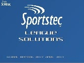Sportstec league solutions