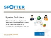 [En] Spotter Solutions and Applicat...