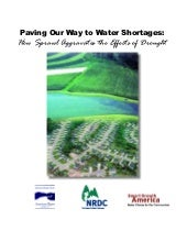 Paving Our Way to Water Shortages: ...