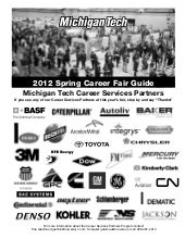 Spring 2012 Career Fair Guidebook
