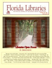"Spring 2013 Issue of ""Florida Libra..."