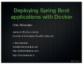 Deploying Spring Boot applications with Docker (east bay cloud meetup dec 2014)