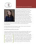 Named Internship Profile Summary - Catherine Meyer (Springer)