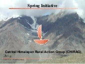 Springs intiative_Harsh, Chirag_ICIMOD-WLE Springs and Solar Workshop,19-21 March 2015