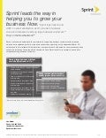 Sprint # 1 Wireless For Business
