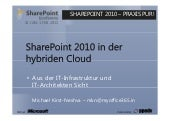 SharePoint 2010 in der hybriden Cloud