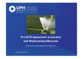 The WTO Agreement on Sanitary and P...