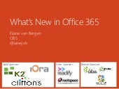 What's New in Office 365 - SPSSyd