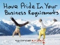 SharePoint Saturday UK 2012 - Have pride in your SharePoint business requirements