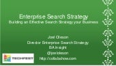 Planning Your Enterprise Search Strategy