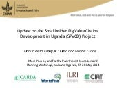Update on the Smallholder Pig Value...