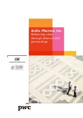 pwc cii-pharma_summit_enhancing val...