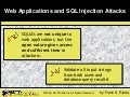 Sql injection brief for slideshare