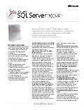 Microsoft SQL Server - Analysis Services Datasheet