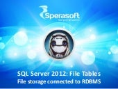 SQL Server 2012 - FileTables
