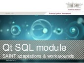 Sql session qt cs
