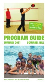 Squirrel Hill Summer 2011 Program G...