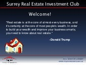 Surrey Real Estate Investors Club -...