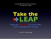 Take The Leap: Finding the Right Pl...