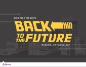 Back to the Future with HR Technology