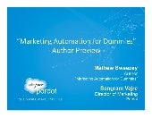 """Marketing Automation for Dummies"" ..."
