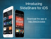 Introducing SlideShare for iOS