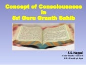 Consciousness in Shri Guru Granth s...