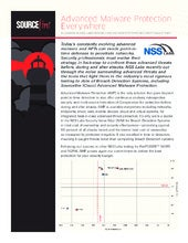 NSS Labs Advanced Malware Protection Report
