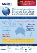Share Services Outsourcing Week 2011