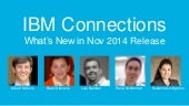 What's New in IBM Connections Social Cloud - November 2014