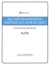 Ssrs 2012(powerview) installation a...