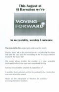St Barnabas Moving Foward in Accessibility, Worship & Welcome
