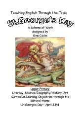 St George and the Dragon by Gina Cocks