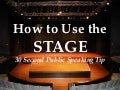 Stage usage