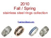 Stainless Steel Rings Collection Ca...