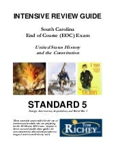 Standard 5 Review Guide (SC US Hist...