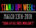Stand Up! Week 2011