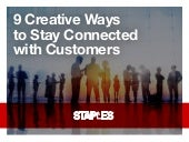 9 Creative Ways to Stay Connected with Customers