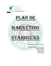 Starbuck marketing.