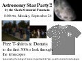 Star party sept 2012