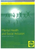 STaR service - article in  MH and Social Inclusion journal