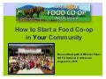 How to Start a Food Co-op in Your Community