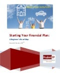 Starting your financial plan