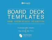 Board Deck Templates for Startups