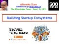 Building Startup Ecosystems (Seoul, Oct 2014)