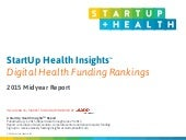 StartUp Health Insights 2015 Mid-Year Report