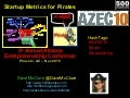 Startup Metrics for Pirates (Nov 2010)