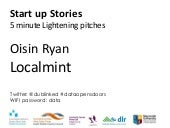 Open Data StartUp Stories in Ireland