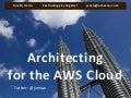 Architecting Cloud Apps