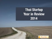 Thai Start-Up Year in Review 2014